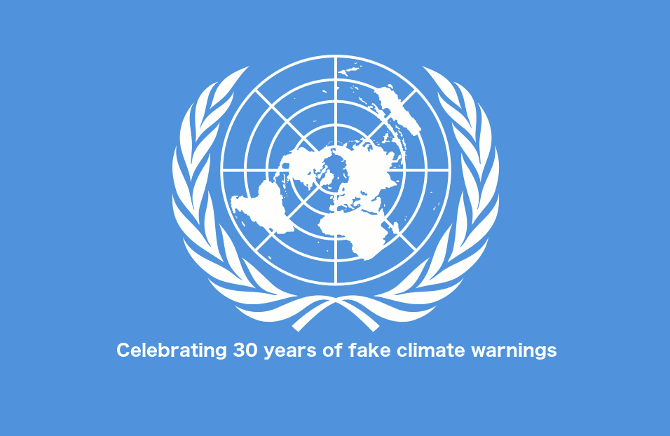 30 Year Anniversary of the UN 1989 '10 years to save the world' Climate Warning